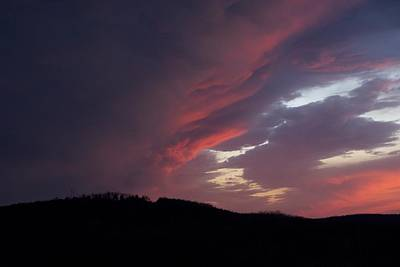 Photograph - Red Clouds 2 by Toni Berry