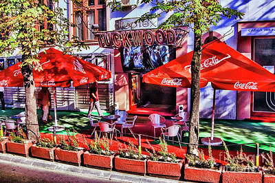 Photograph - Red Club by Rick Bragan