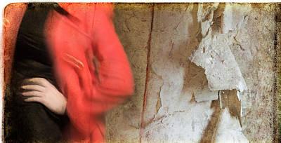 Photograph - Red Coat #4820 by Andrey  Godyaykin