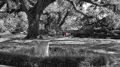 Photograph - Red Coat by David and Lynn Keller