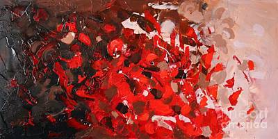 Painting - Red Coral by Preethi Mathialagan