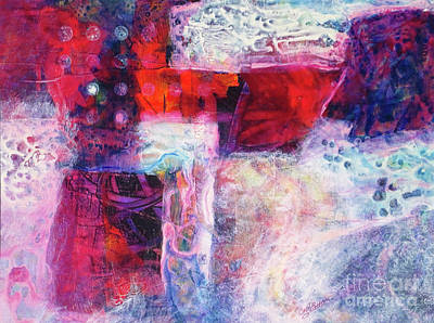 Painting - Red Cruciform by Cecilia Swatton