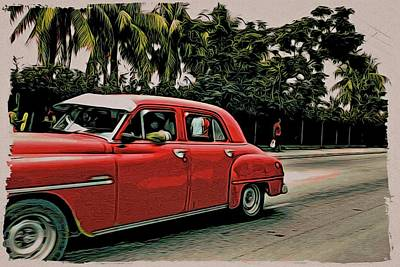 Photograph - Red Cruiser by Alice Gipson