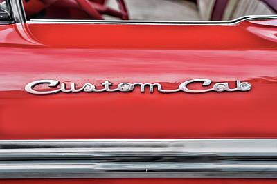 Photograph - Red Custom Cab by Sharon Popek