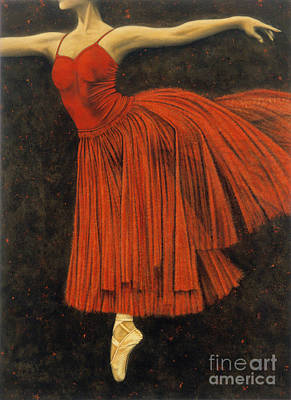 Red Dancer Original by Lawrence Supino