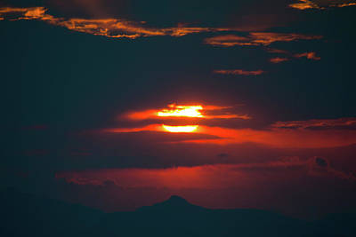 Photograph - Red Dawn Above Southwest Texas by Steven Green