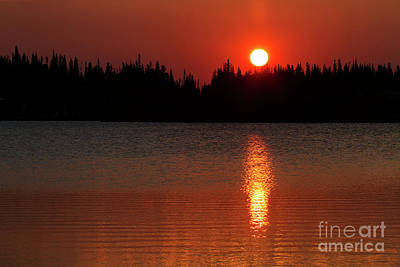 Photograph - Red Dawn by Jim Garrison