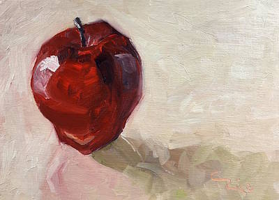 Painting - Red Delicious by Chris Rice