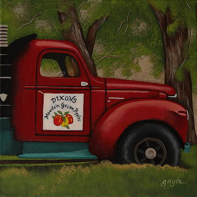 Painting - Red Delicious by Gayle Faucette Wisbon