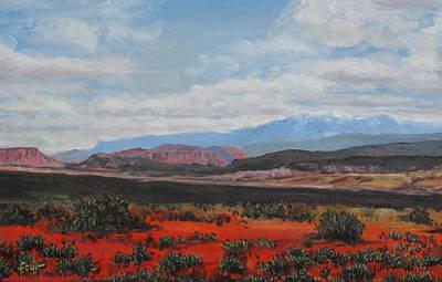 Painting - Red Desert by Gene Foust