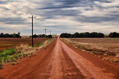 Photograph - Red Dirt Road by Lana Trussell