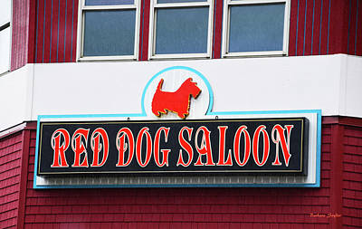 Painting - Red Dog Saloon Juneau Alaska by Barbara Snyder