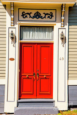 Photograph - Red Door 49 by Rick Bragan