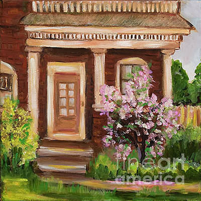 Painting - Red Door 6th Street by Pati Pelz