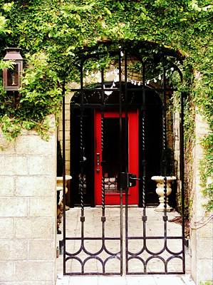 Photograph - Red Door by Amar Sheow