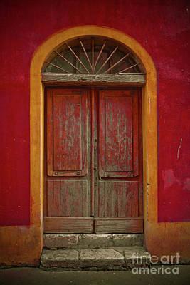 Photograph - Red Door by Derek Selander