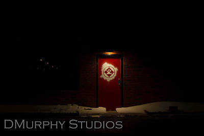 Photograph - Red Door by Derry Murphy