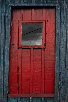 Photograph - Red Door by Edgar Laureano