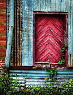 Photograph - Red Door by James Barber