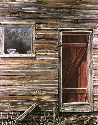 Painting - Red Door by Jean Sumption