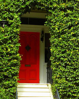 Photograph - Red Door by Kim Zwick