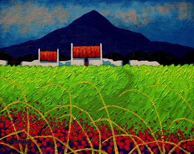 Red Door Meadow Original by John  Nolan