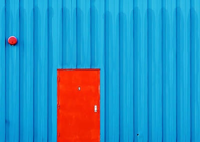Red Door No. 9 Art Print by Todd Klassy