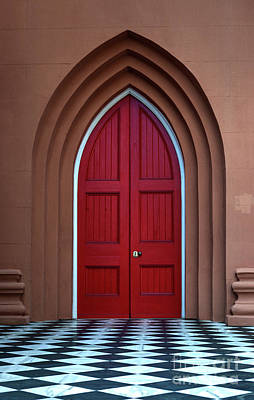 Photograph - Red Door On King by Dale Powell
