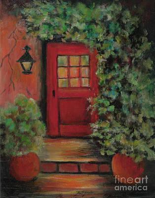 Painting - Red Door by Pati Pelz