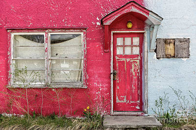 Photograph - Red Door by Patti Schulze