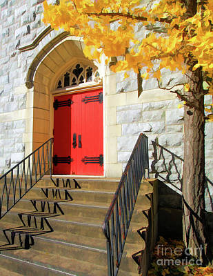 Photograph - Red Door Tradition by Geoff Crego