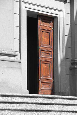 Traditional Bells - Red Door by Valentino Visentini
