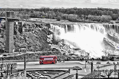 Photograph - Red Double Decker by Traci Cottingham