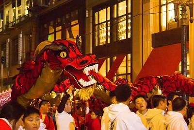 Photograph - Red Dragon by Bonnie Follett