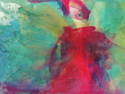 Painting - Red Dress by Cynthia Matthews