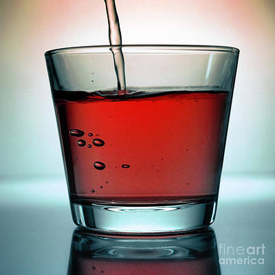 Pour Photograph - Red Drink by Andreas Berheide