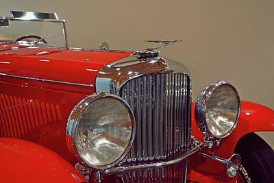 Photograph - Red Duesenberg Beauty by Patricia Strand