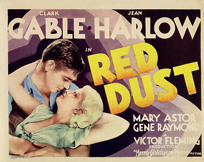 Red Dust 1932 Art Print by M G M