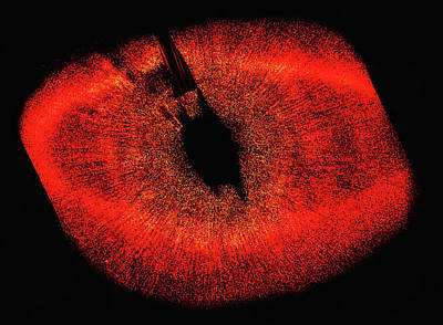Photograph - Red Eye In Outer Space - Fomalhaut System by Matthias Hauser