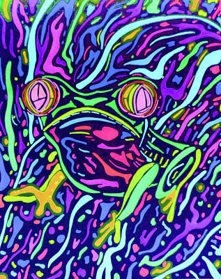 Red Eye Tree Frog 2 Art Print