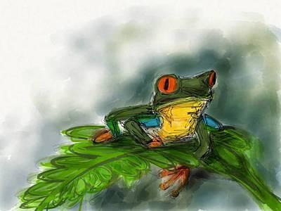 Red-eyed Tree Frog Original