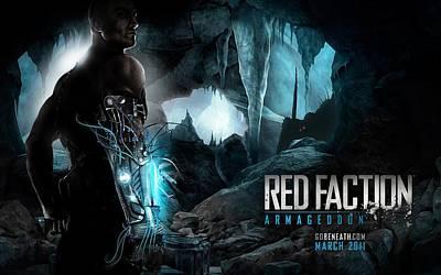 Red Faction Armageddon Game Art Print