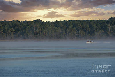Photograph - Red Fish Morning by Dale Powell