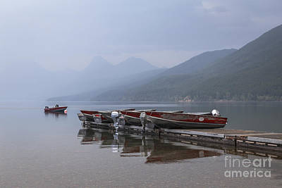 Photograph - Red Fishing Boats by Dennis Hedberg
