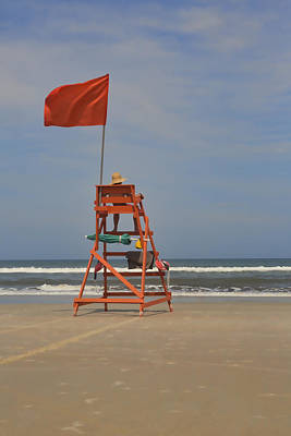 Photograph - Red Flag Day by Gregory Scott