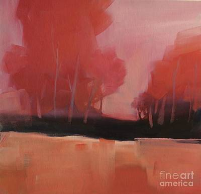 Painting - Red Flair by Michelle Abrams