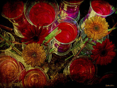 Photograph - Red Flowers 2 by Cristina Ortiz
