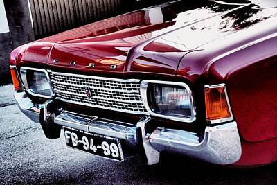 Photograph - Red Ford 01 by Dora Hathazi Mendes