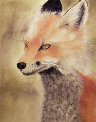 Painting - Red Fox by Joanne Giesbrecht