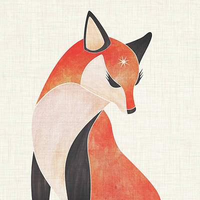 Kristian Gallagher Royalty-Free and Rights-Managed Images - Red Fox by Kristian Gallagher